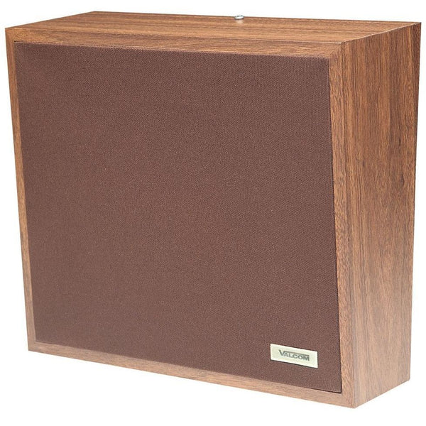 VALCOM 1Way Wall Speaker - Walnut