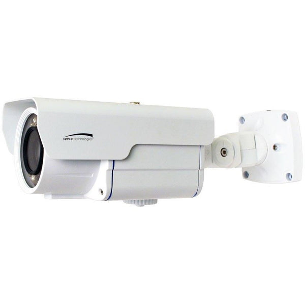 SPECO IP License Plate Camera- 5-50mm. White
