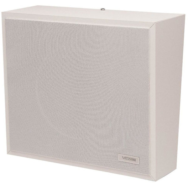 VALCOM 1Watt 1Way Wall Speaker - White