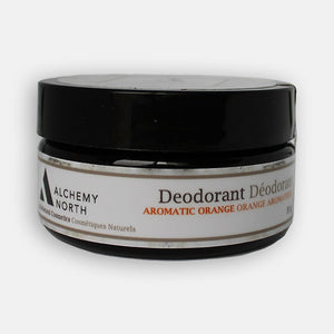 Vegan Deodorant: Aromatic Orange