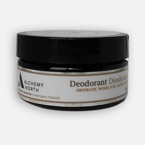 Vegan Deodorant: Aromatic Wood