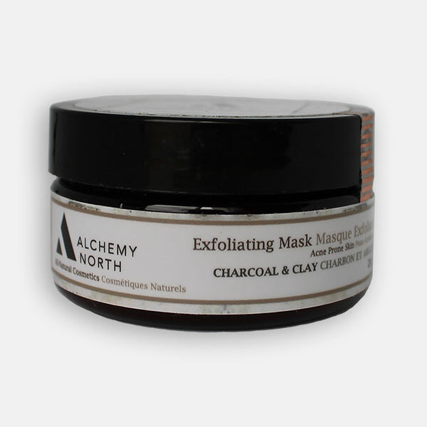 Vegan Exfoliating Mask: Charcoal and Clay