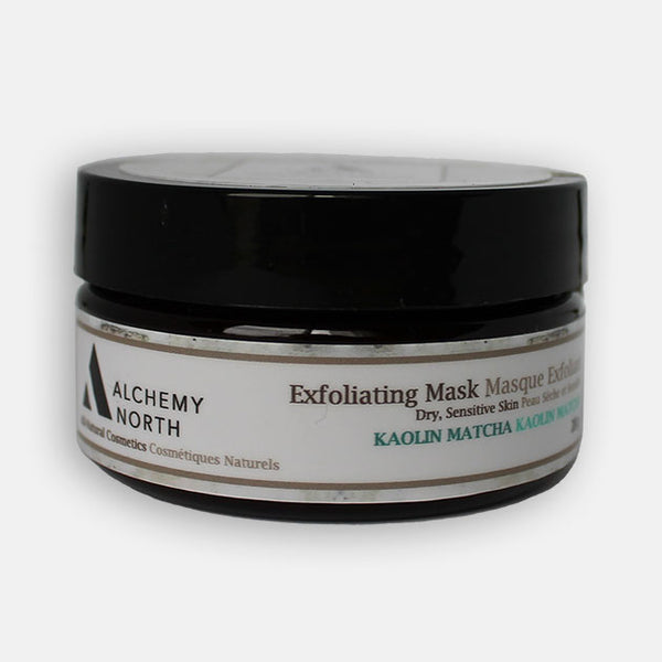 Vegan Exfoliating Mask: Kaolin Matcha