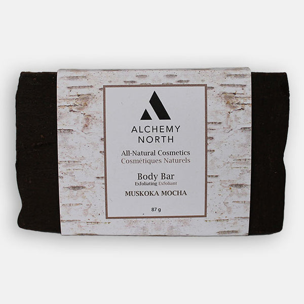 Vegan Exfoliating Soap: Muskoka Mocha