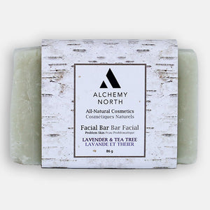 Vegan Facial Bar: Lavender and Tea Tree
