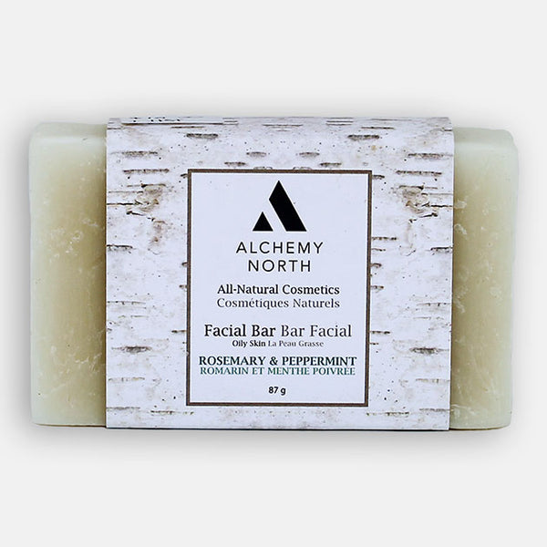 Vegan Facial Bar: Rosemary and Peppermint