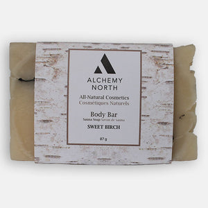 Vegan Sauna Soap: Sweet Birch