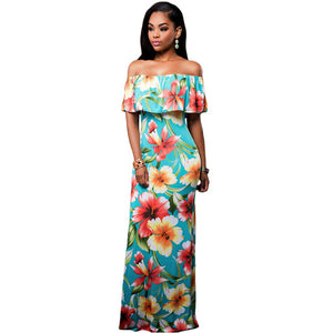 Tropical Print Dress (Multiple Styles)