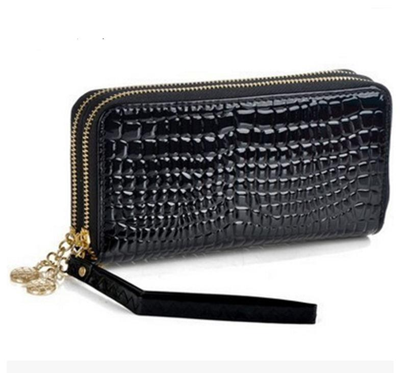 Large capacity high quality long wallet (multiple colors)