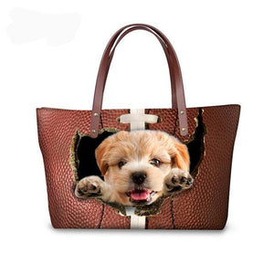 3D Animal Lady Tote Bag - Multiple Styles