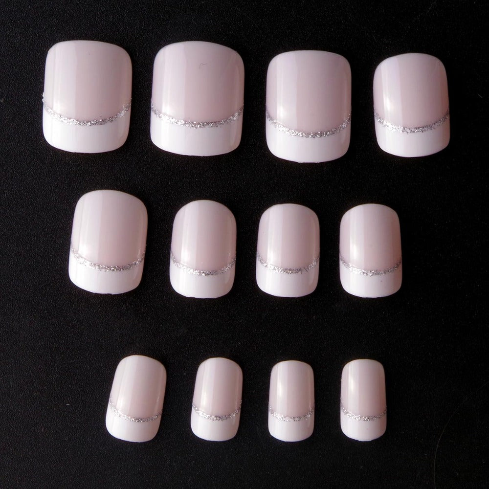 Beauty Short French Fake Nails – Your Fingernail Store