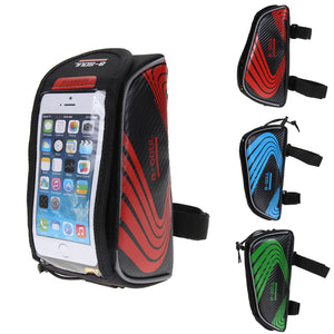 B-Soul Touch Screen Bicycle Bag Front Top Tube Frame Waterproof