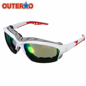 OUTERDO Mountain Bike Sunglasses Goggle