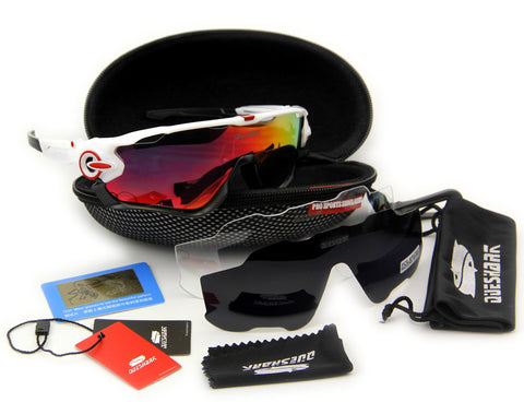 Queshark Sunglasses TR90 Frame UV-400 Polarized (complete kit)