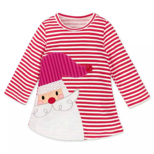 Striped Santa Dress