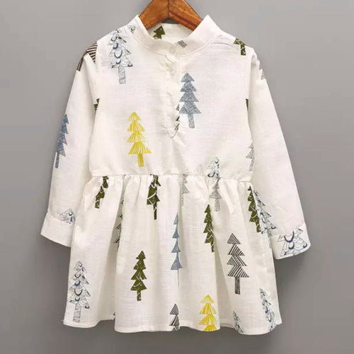 Woodland Christmas Tree Dress