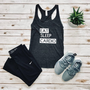Eat. Sleep. Cardio Tank Top