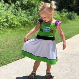 Character Inspired Buzz Dress