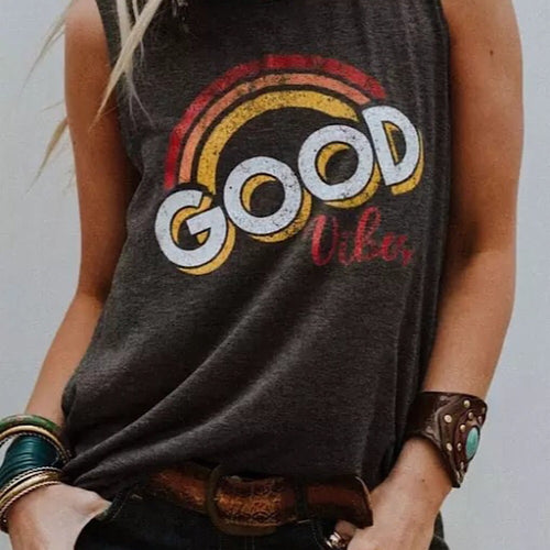 Good Vibes Muscle Tee