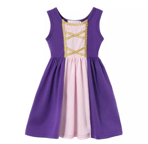 Character Inspired Rapunzel Dress