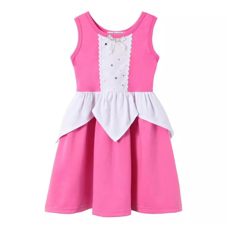 Character Inspired Pink Cinderella Princess Dress