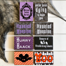 Spooky & Haunted Theme Park Signs