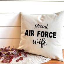 Military Mom, Wife & Grandma Pillow Covers