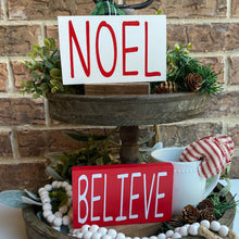 Small Christmas Wood Signs