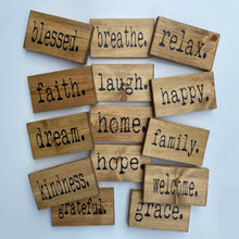 Small Inspirational Wood Signs