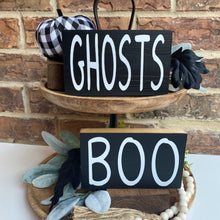 Small Halloween Wood Signs