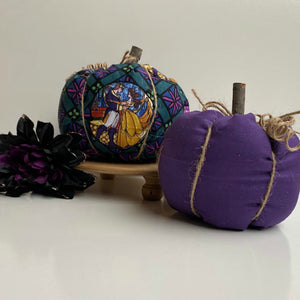 Be Our Guest Fall Pumpkins | Set of 2