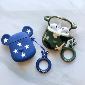 Character Ear Bud Case Cover