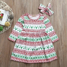 Festive Holiday Toddler Dress