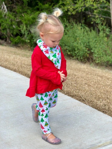 3 Piece Holiday  Tree Outfit