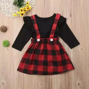 Buffalo Plaid Jumper Set