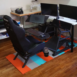 Ergonomic Dreamstation Cockpit Desk