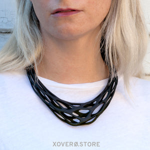 GRAVITY - 3d Printed Necklace - Nylon