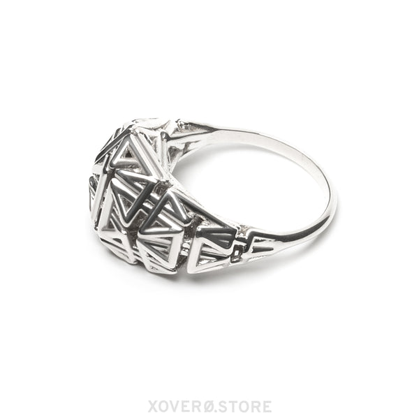 Daedal Ring Sterling Silver