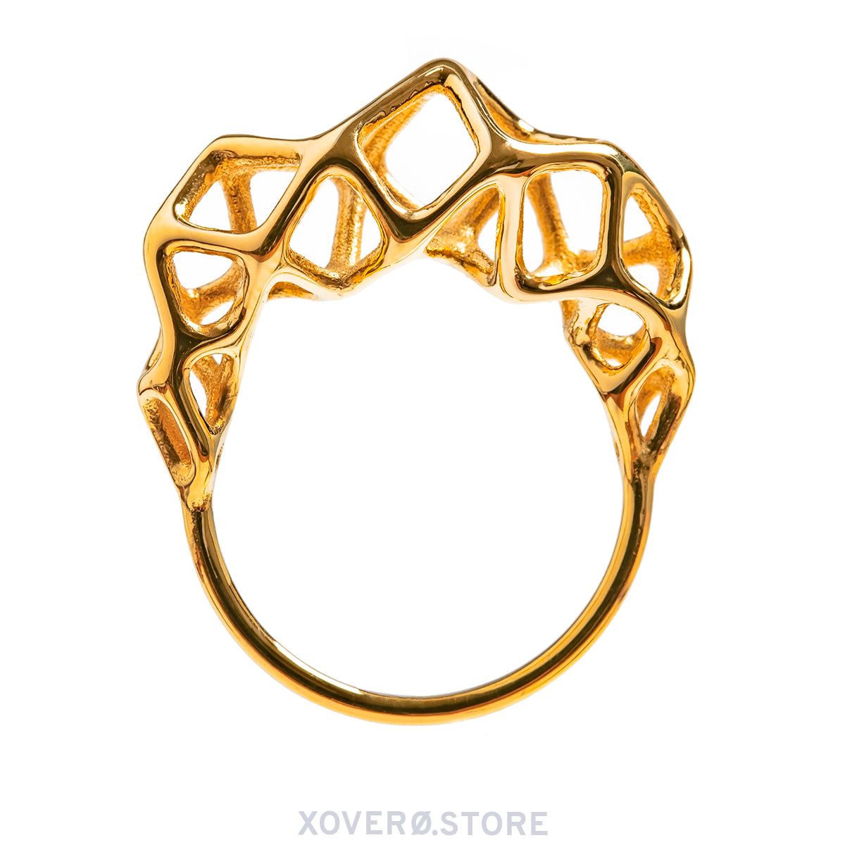 CYTO - 3d Printed Ring - Sterling or Gold Plated