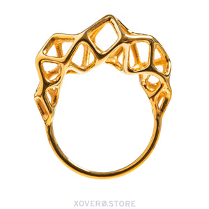 CYTO - 3d Printed Ring - Sterling or Gold-Plated