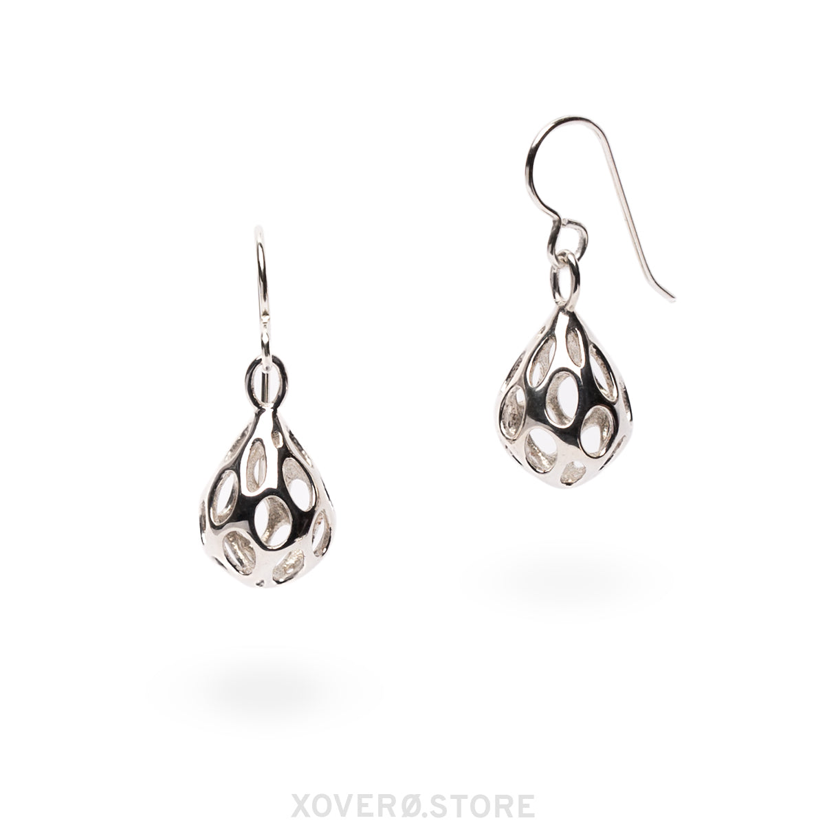 OLEA - 3d Printed Earrings - Sterling or Gold-Plated