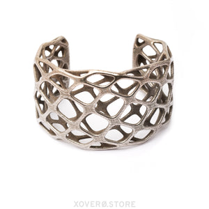 MATIC- 3d Printed Cuff - Steel