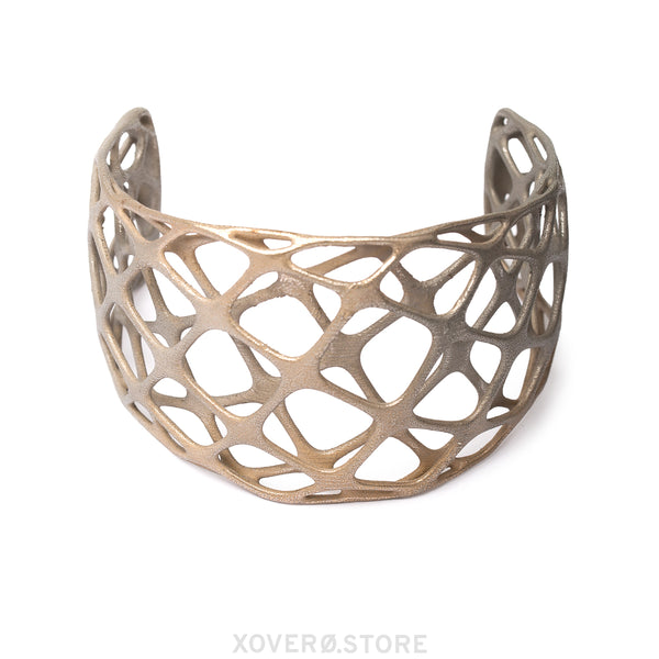 MATRIX - 3d Printed Choker - Steel