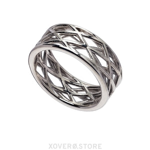 VERO - 3d Printed Ring - Sterling or Gold-Plated