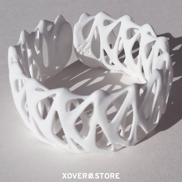 TWIST - 3d Printed Bracelet - Nylon