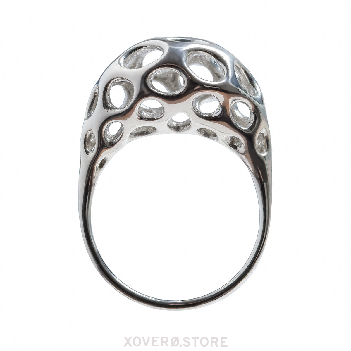 ORPHEUS - 3d Printed Ring - Sterling or Gold-Plated