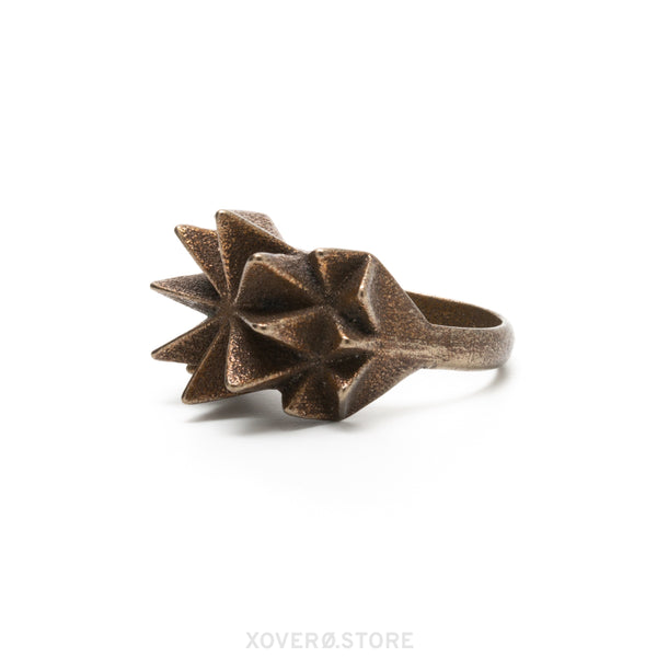 SETA - 3d Printed Ring - Steel