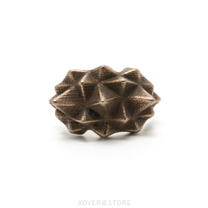 STELLALITE - 3d Printed Ring - Steel