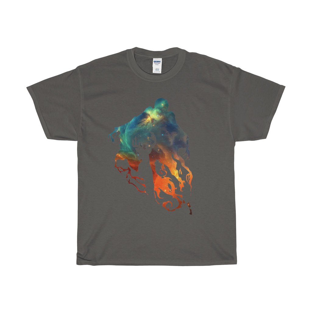 Dementor and Stag Galaxy T-Shirt
