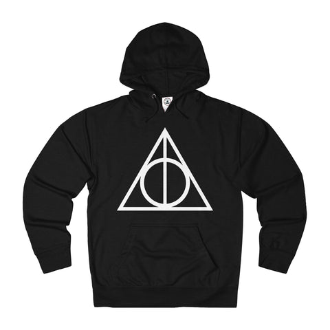 Harry Potter The Deathly Hallows Adult Unisex French Terry Hoodie